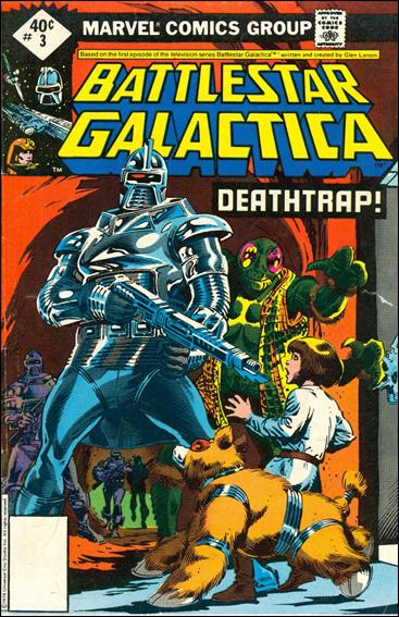 Battlestar Galactica (1979) 3-B by Marvel