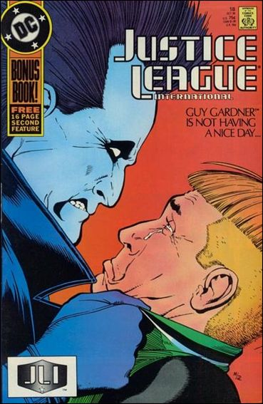 Justice League International (1987) 18-A by DC