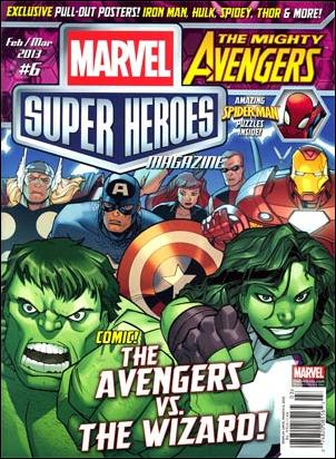 Marvel Super Heroes Magazine 6-A by Marvel