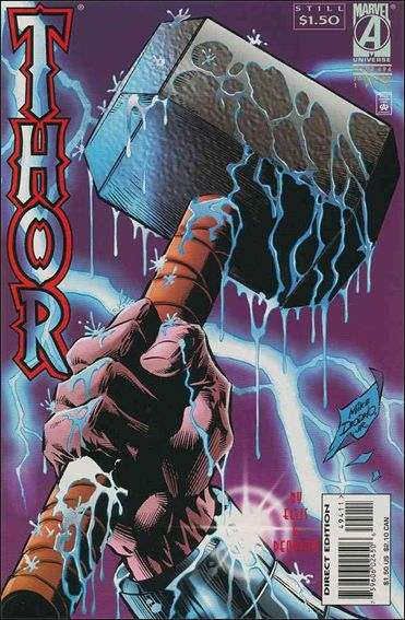 Thor (1966) 494-A by Marvel