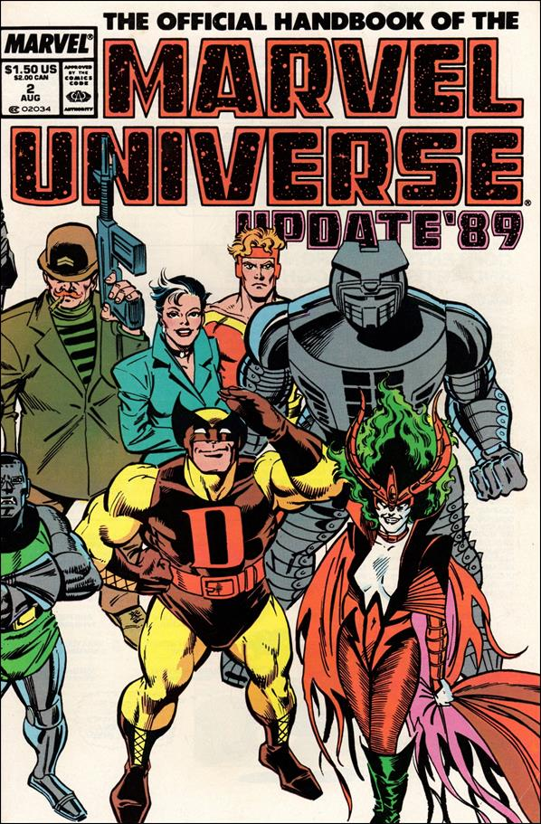 Official Handbook of the Marvel Universe (1989) 2-A by Marvel