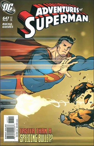 Adventures of Superman (1987) 647-A by DC