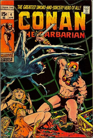 Conan the Barbarian (1970) 4-A by Marvel