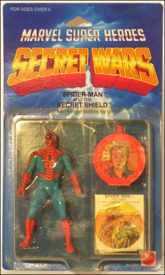 Marvel Super Heroes Secret Wars Spider-Man by Mattel