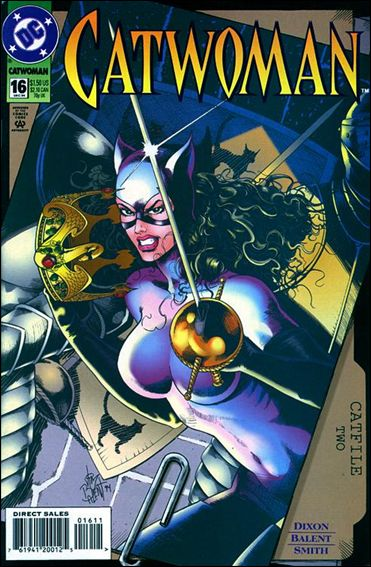 Catwoman (1993) 16-A by DC