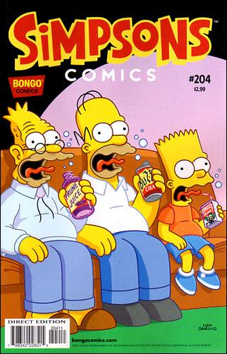 Simpsons Comics 204-A by Bongo