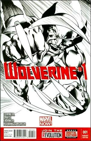 Wolverine (2013) 1-C by Marvel