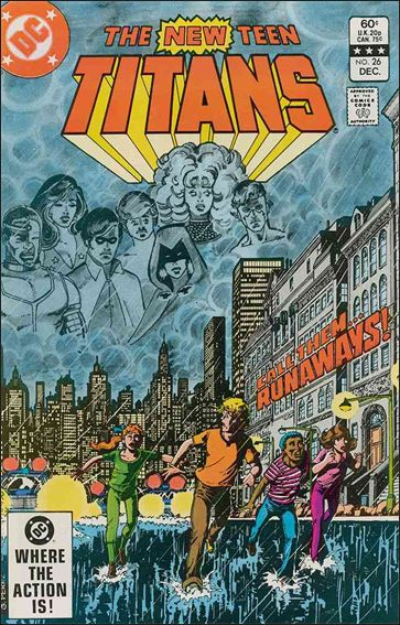 New Teen Titans (1980) 26-A by DC