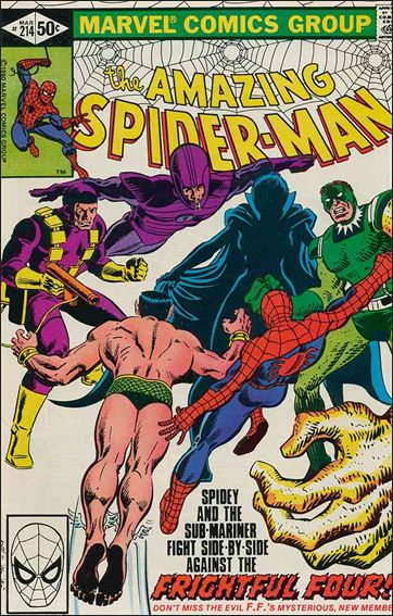 Amazing Spider-Man (1963) 214-A by Marvel