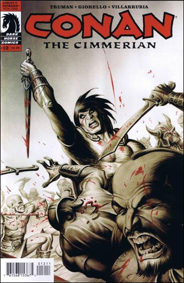 Conan the Cimmerian 12-A by Dark Horse