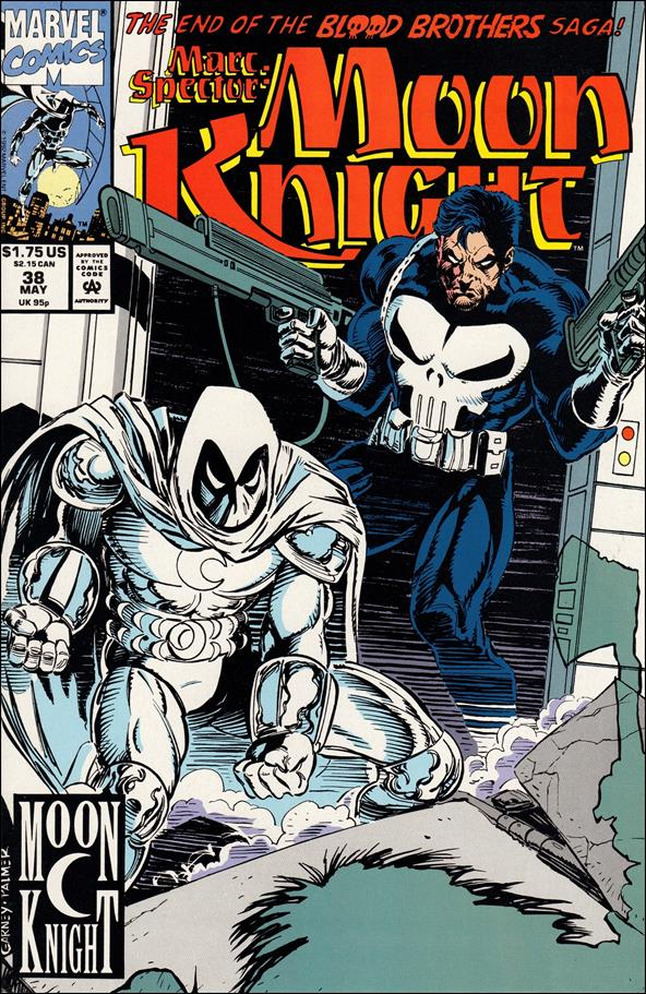 Marc Spector: Moon Knight 38-A by Marvel