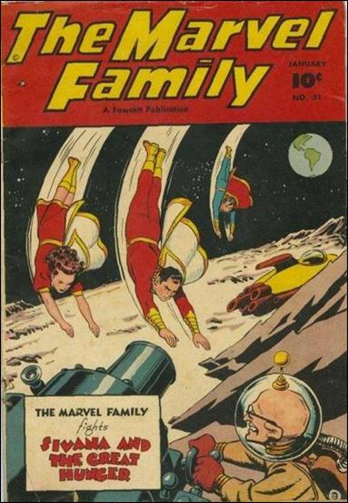Marvel Family 31-A by Fawcett