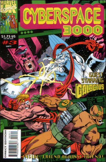 Cyberspace 3000 (UK) 3-A by Marvel UK
