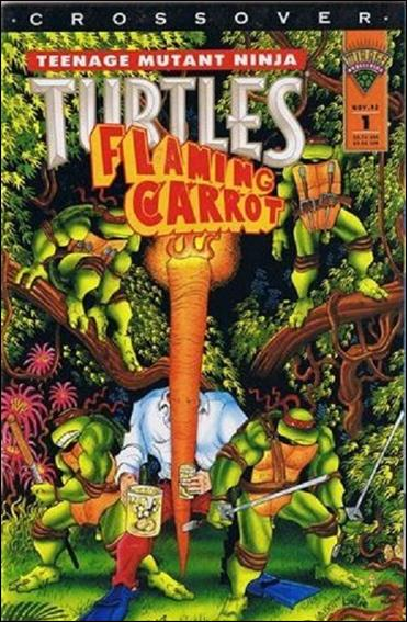 Teenage Mutant Ninja Turtles/Flaming Carrot Crossover 1-A by Mirage