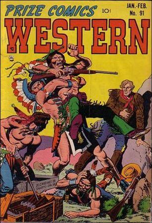 Prize Comics Western 91-A