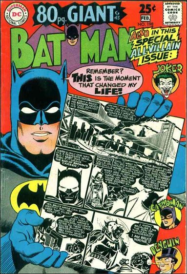 Batman (1940) 198-A by DC