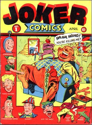 Joker Comics 1-A by Timely