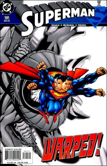 Superman (1987) 191-A by DC