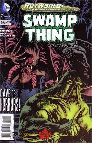 Swamp Thing (2011) 16-A by DC