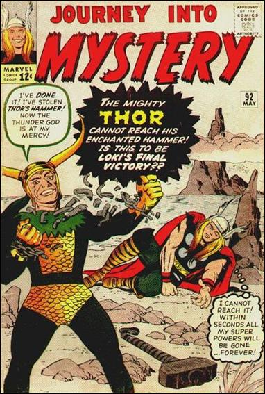 Journey into Mystery (1952) 92-A by Marvel