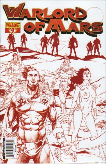 Warlord of Mars 9-D by Dynamite Entertainment
