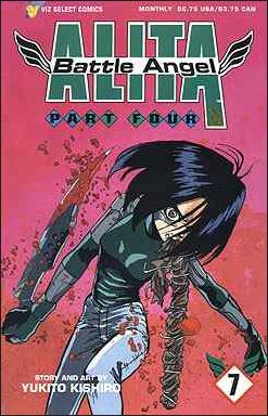 Battle Angel Alita Part 4 7-A by Viz