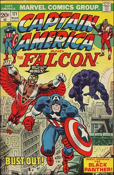 Captain America (1968) 171-A by Marvel