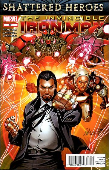 Invincible Iron Man (2008) 511-A by Marvel