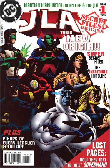 JLA Secret Files 1-A by DC