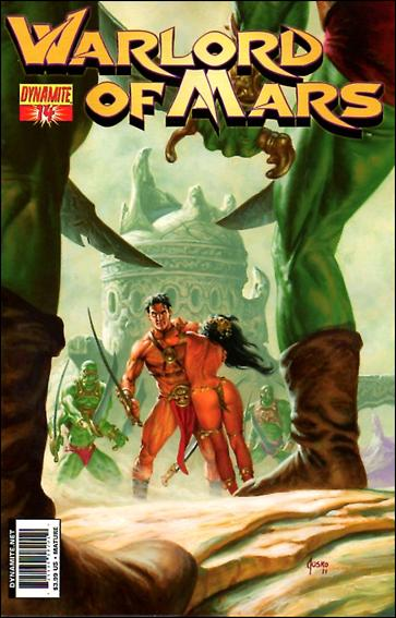Warlord of Mars 14-A by Dynamite Entertainment
