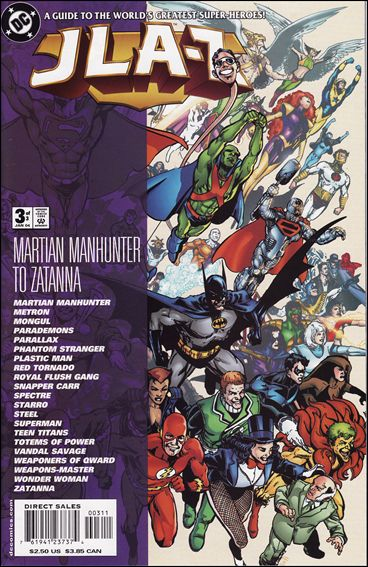 JLA–Z 3-A by DC
