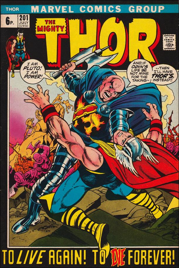 Thor (1966) 201-B by Marvel