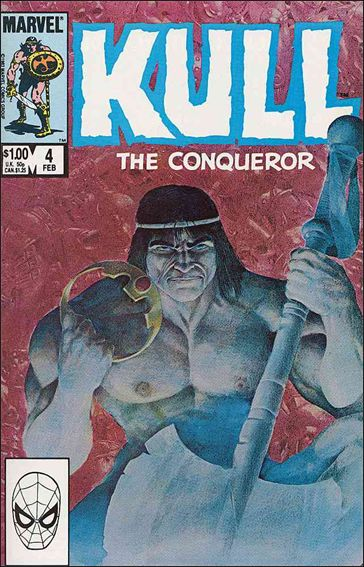 Kull the Conqueror (1983) 4-A by Marvel