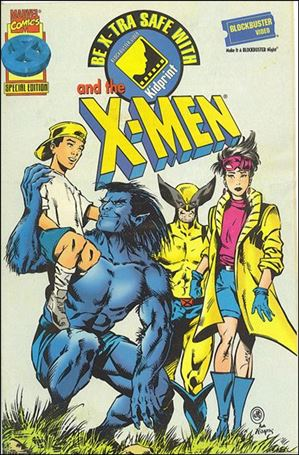 Be X-Tra Safe with the X-Men 1-A