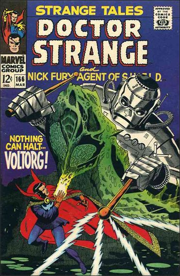 Strange Tales (1951) 166-A by Marvel