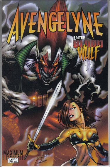 Avengelyne (1996) 14-A by Maximum Press