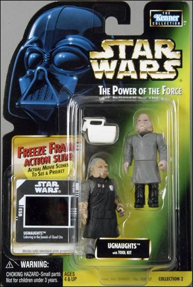 "Star Wars: The Power of the Force 2 3 3/4"" Basic Action Figures Ugnaughts w/ Freeze Frame by Kenner"