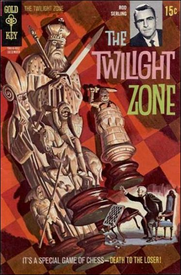Twilight Zone (1962) 35-A by Gold Key