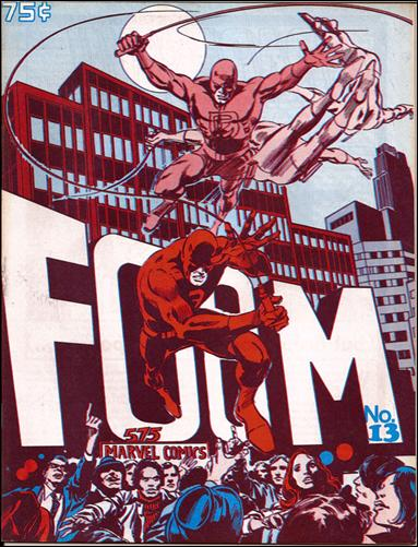 FOOM Magazine 13-A by Marvel