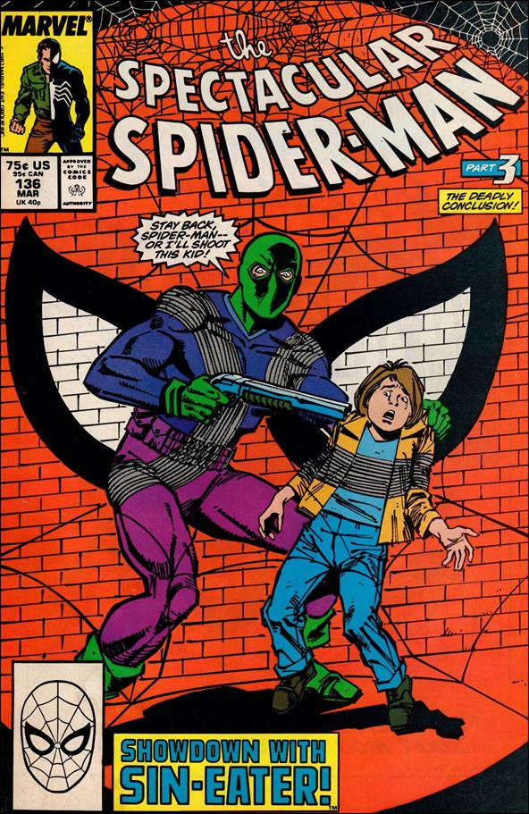 Spectacular Spider-Man (1976) 136-A by Marvel