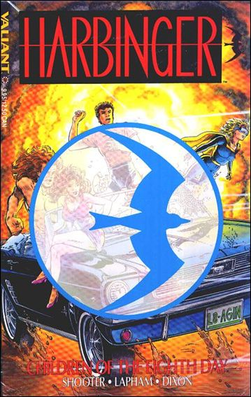 Harbinger (1993) 1-C by Valiant