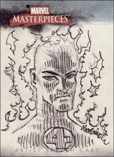 2007 Marvel Masterpieces (Sketch Card Subset) CM-A by Upper Deck