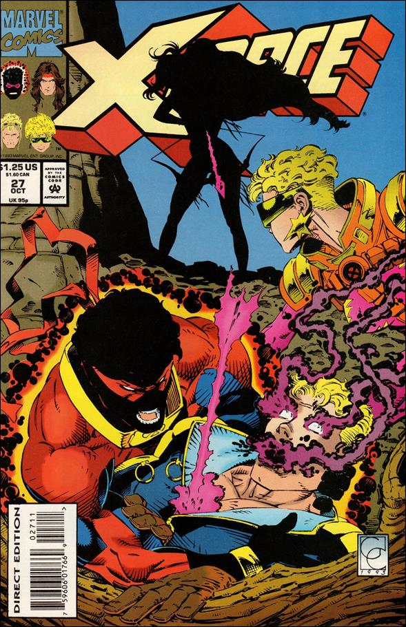 X-Force (1991) 27-A by Marvel