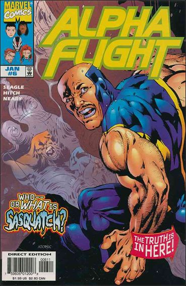 Alpha Flight (1997) 6-A by Marvel
