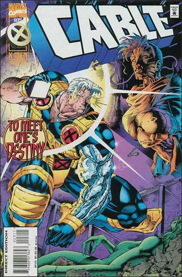 Cable (1993) 23-A by Marvel