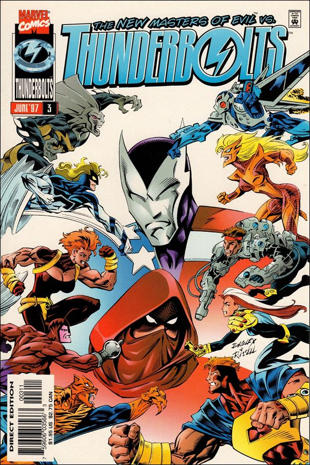 Thunderbolts (1997) 3-A by Marvel