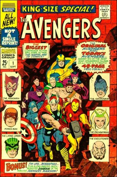 Avengers Annual 1-A by Marvel
