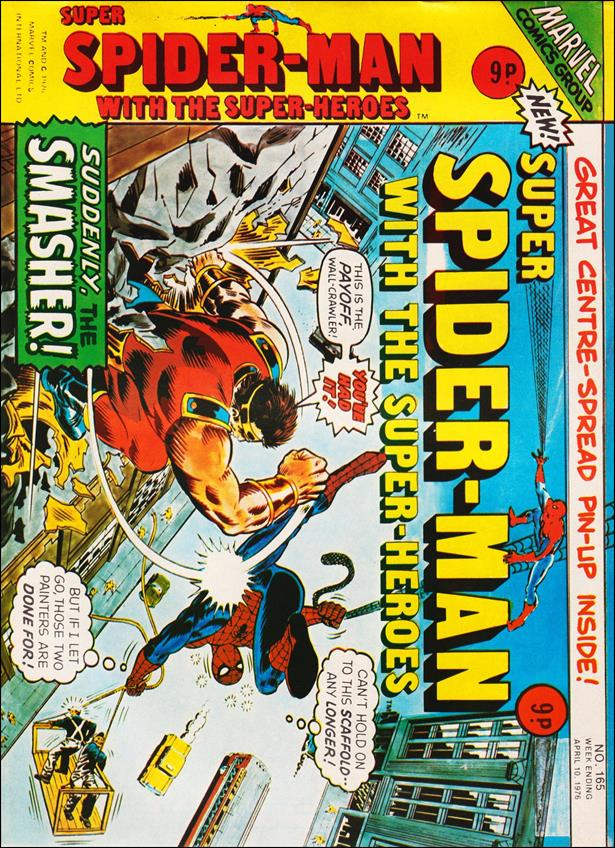 Spider-Man: Comics Weekly (UK) 165-A by Marvel UK