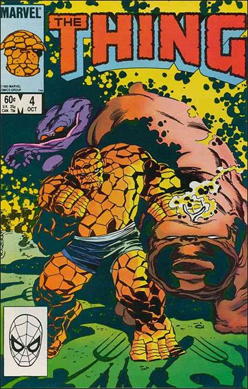 Thing (1983) 4-A by Marvel