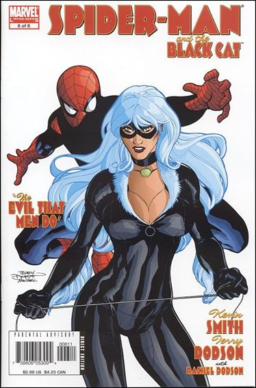 Spider-Man/Black Cat: The Evil that Men Do 6-A by Marvel